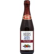 Meiers 100% Juice, Grape, Sparkling Wild Berry Flavored