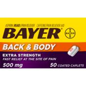 Bayer Aspirin Back & Body Extra Strength - 50 CT