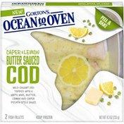 Gorton's Caper & Lemon Butter Sauced Cod