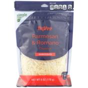 Hy-Vee Parmesan & Romano Shredded Cheeses