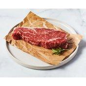 Top Choice Bone In Ovr New York Loin Beef Strip Steak
