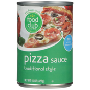 Food Club Traditional Style Pizza Sauce