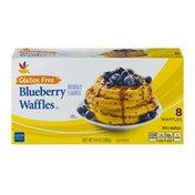 SB Gluten Free Blueberry Waffles - 8 CT
