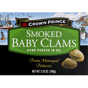 Crown Prince Baby Clams, Smoked