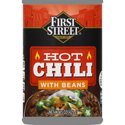 First Street Chili, with Beans, Hot
