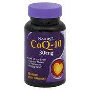 Natrol CoQ-10, 30 mg, Capsules