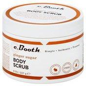 C. Booth Body Scrub, Ginger Sugar