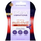 Trojan Vibrations Multi-Thrill 3 In 1 Vibrating Bullet Massager