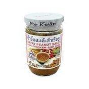 Por Kwan Satay Peanut Sauce For Chicken And Pork