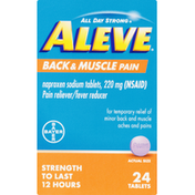 Aleve Back & Muscle Pain, 220 mg, Tablets