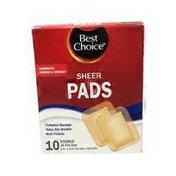 "Best Choice Adhesive Pads 3"" X 4"""