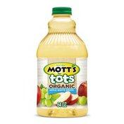 Mott's for Tots Organic Apple White Grape Juice