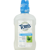 Tom's of Maine Mouthwash, Alcohol-Free, Cleansing, Spearmint