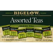 Bigelow Green Teas, Assorted, Bags
