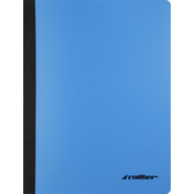 Caliber Composition Book, Poly, Wide Ruled, 70 Sheets