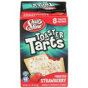 Shurfine Frosted Strawberry Toaster Tarts Pastries