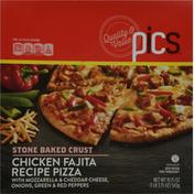 PICS Pizza, Chicken Fajita Recipe, Stone Baked Crust