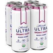 Michelob Mixed Berry Organic Seltzer