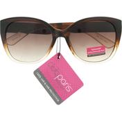 Club Paris Sunglasses, Round, Large