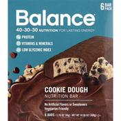 Balance Bar Nutrition Bar, Cookie Dough