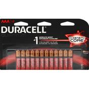 Duracell Batteries, Alkaline, Hi-Density Core, AAA