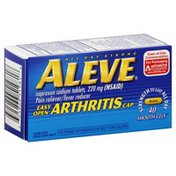 Aleve Pain Reliever/Fever Reducer, 220 mg, Smooth Gels