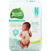 Seventh Generation Diapers, N (Up to 10 lbs)