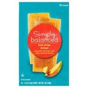 Simply Balanced Fruit Strips, Mango