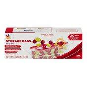 SB Storage Bags, Slider, Quart, Box