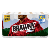 Brawny Towels 8 Extra Large 140CT Pick-A-Size White