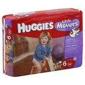 Huggies Diapers, Size 6 (Over 35 lb), Disney Winnie the Pooh, Mega