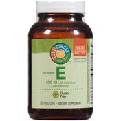 Full Circle Vitamin E 400 Iu With Selenium Immune Support Dietary Supplement Perlecaps