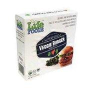 Life Foods Whole Plant Based Superfoods Veggie Burger Immunity