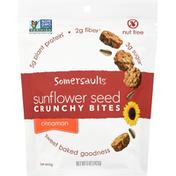 Somersaults Snack Co Sunflower Seed Crunchy Bites - Cinnamon