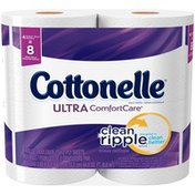 Cottonelle Ultra ComfortCare Double Roll Toilet Paper