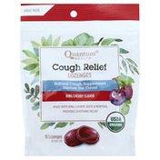 Quantum Cough Relief, Lozenges, Bing Cherry Flavor