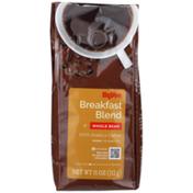 Hy-Vee Medium Light Breakfast Blend Whole Bean 100% Arabica Coffee