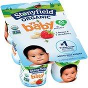 Stonyfield® Organic Yo Baby Whole Milk Yogurt