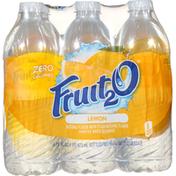 Fruit 2 O Purified Water Beverage, Lemon