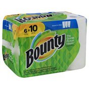 Bounty Paper Towels, Select-A-Size, White, 2-Ply Sheets