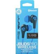 JLab JBuds Pro Bluetooth Signature Earbuds - Blue