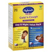 Hyland's Cold 'n Cough, Natural Grape Flavor, Day & Night Value Pack