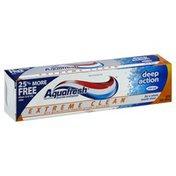 Aquafresh Fluoride Toothpaste, Deep Action, Mint Zest
