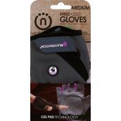 Natural Fitness Gloves, WristAssist, Medium
