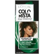 Colorista Hair Makeup 1-Day Hair Color Green 70 (For Brunettes)