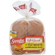 Sara Lee Soft & Smooth Whole Grain White Hamburger Buns