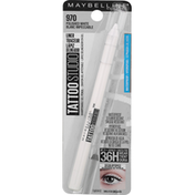 Maybelline Liner, Waterproof, Polished White 970