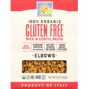 bionaturae Rice & Lentil Pasta, Gluten Free, Organic, Elbow
