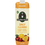 Sambazon Superfood Beverage, Organic, Daily Cleanse