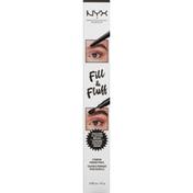 NYX Professional Makeup Eyebrow Pomade Pencil, Fill & Fluff, Espresso
